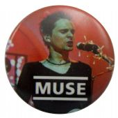 Muse - 'Matt on Stage' Button Badge